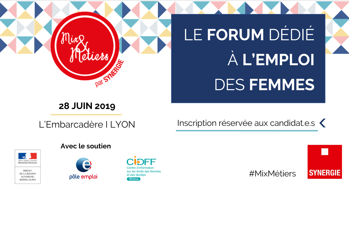 FORUM MIX & METIERS SYNERGIE X L'EMBARCADERE